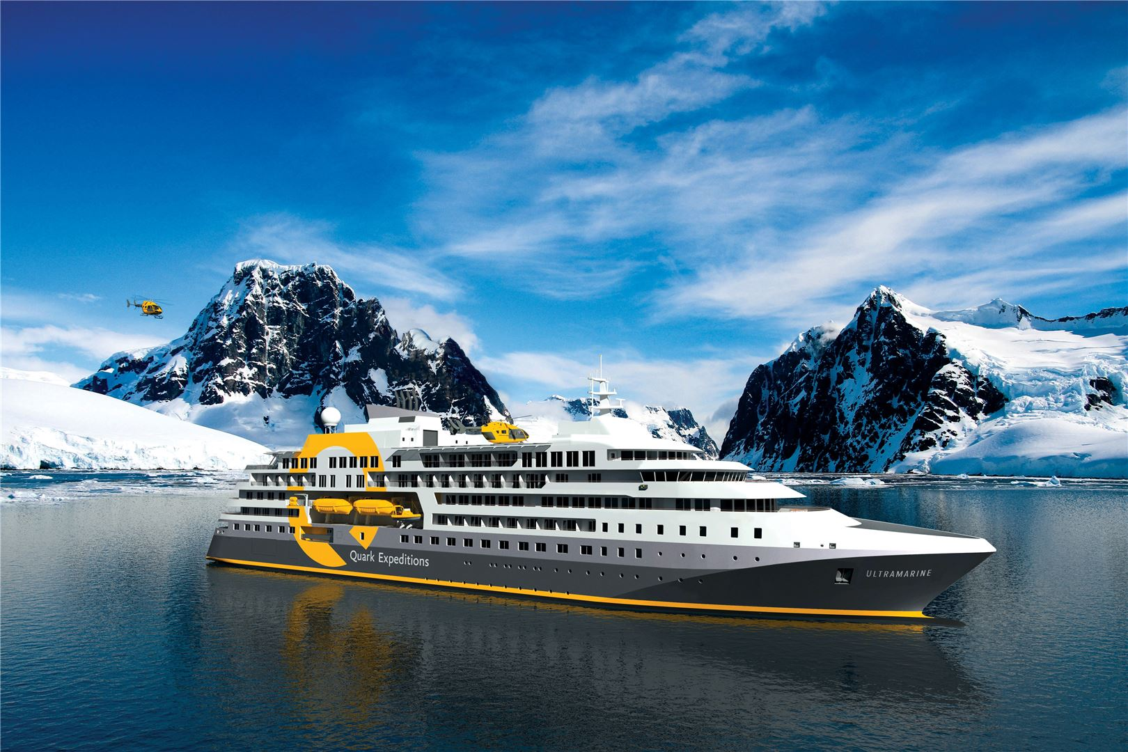 Quark Expeditions' Ultramarine Open for Booking
