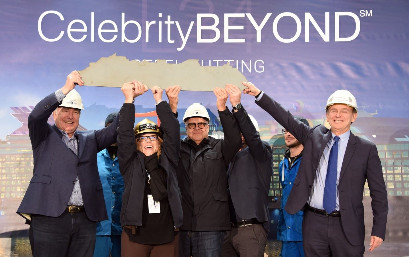 Celebrity Cruises Cuts Steel for Celebrity Beyond