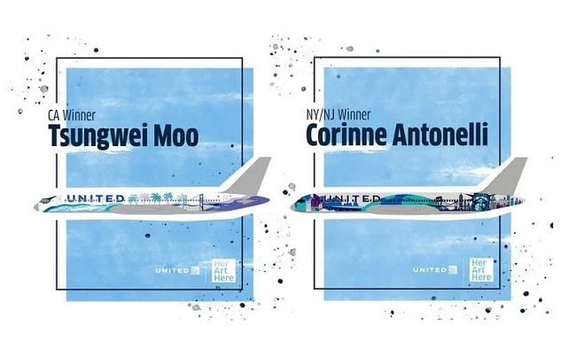 United Airlines Announces Winners of 'First-of-Its-Kind' Art Contest