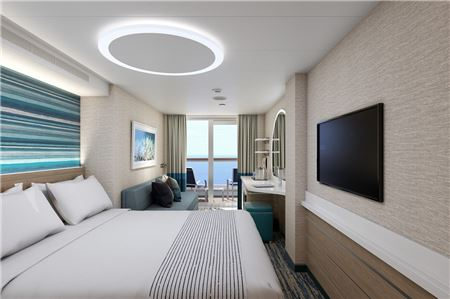 Carnival Cruise Line Unveils Stateroom Design for New Ship Mardi Gras