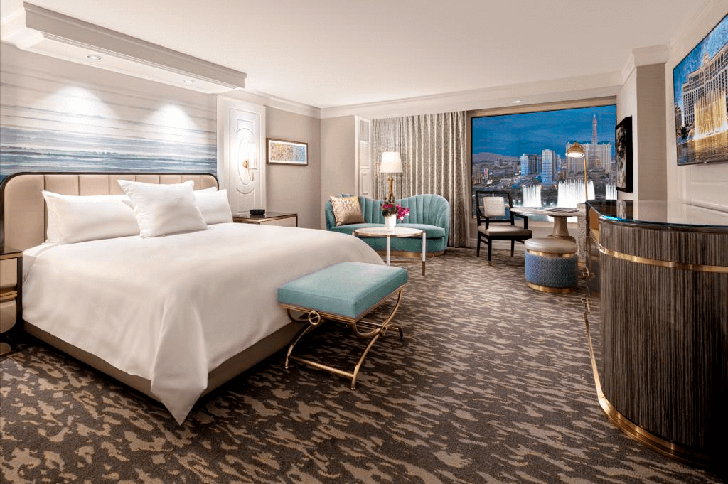 First Look: The Bellagio's New Guest Rooms