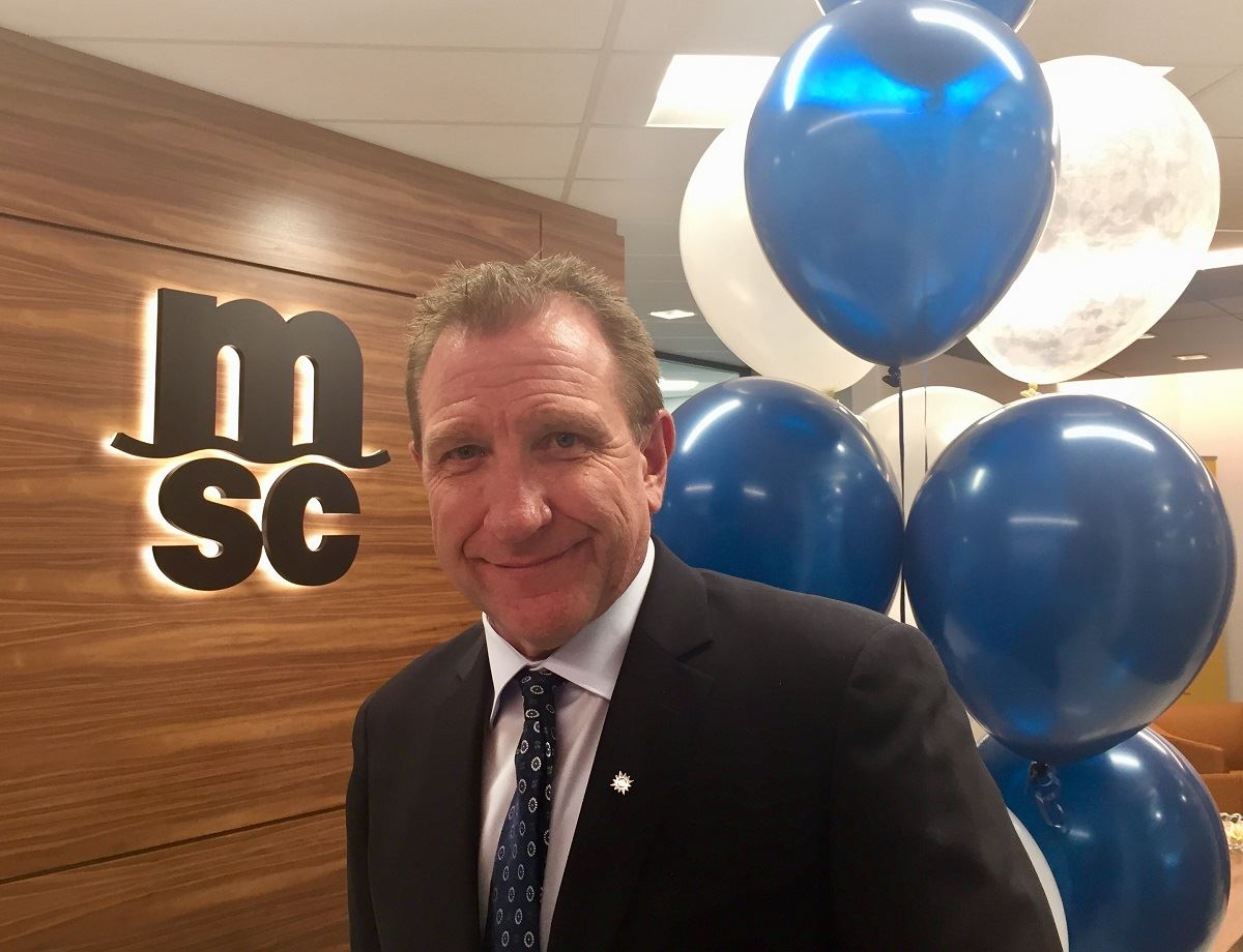 MSC Cruises Becomes First Cruise Line to Open Fully Staffed Canadian Office