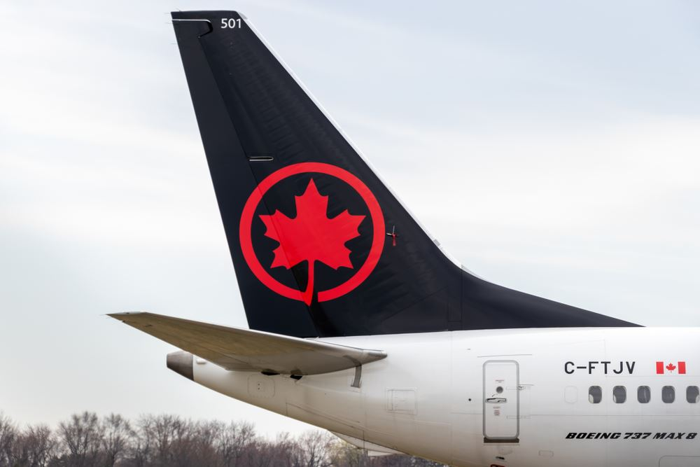 Air Canada Extends Boeing 737 MAX Grounding